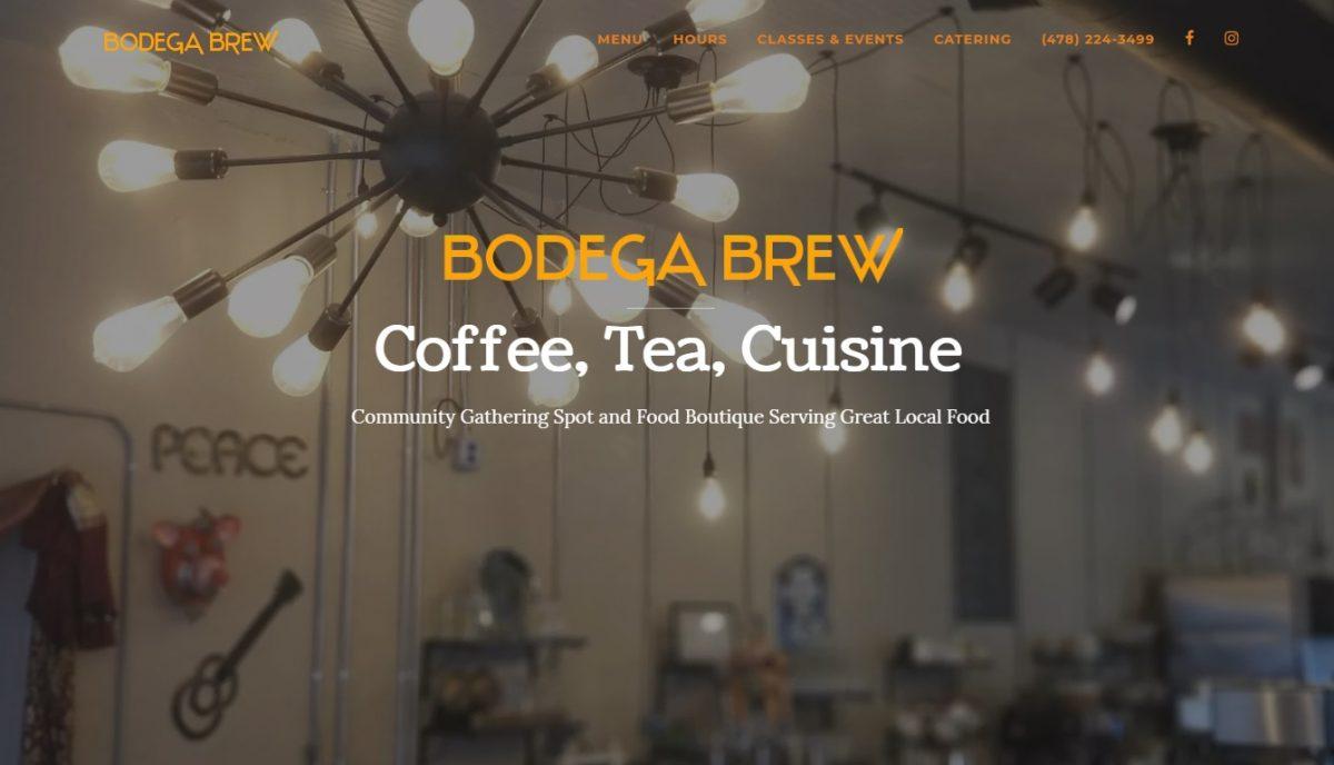 Bodega Brew Landing Page